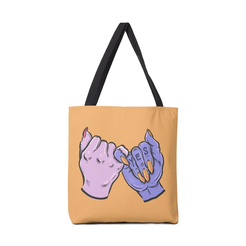 Pinky Swear Accessories Tote Bag Bag by Shirts and Things by Mensen