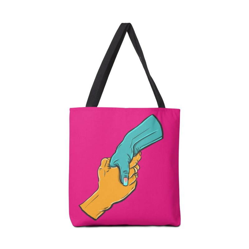 Helping Hand Accessories Tote Bag Bag by Shirts and Things by Mensen