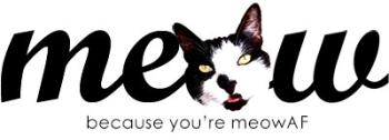 Meow As Fluff Stuff! Logo
