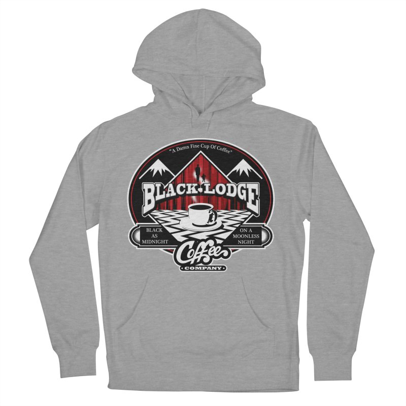 Black Lodge Coffee Company Men's Pullover Hoody by Designs By Mephias