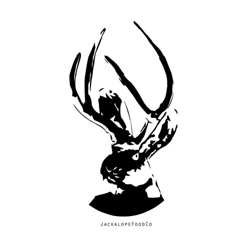 Jackalope Logo Black by merchhawker's Artist Shop