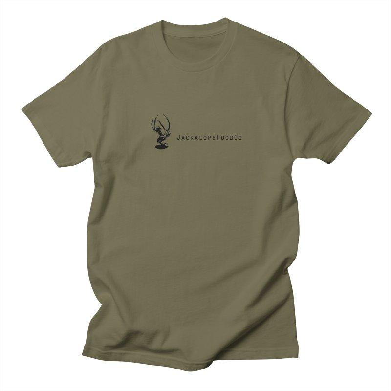 Jackalope Food Co. Small Logo Men's T-Shirt by merchhawker's Artist Shop