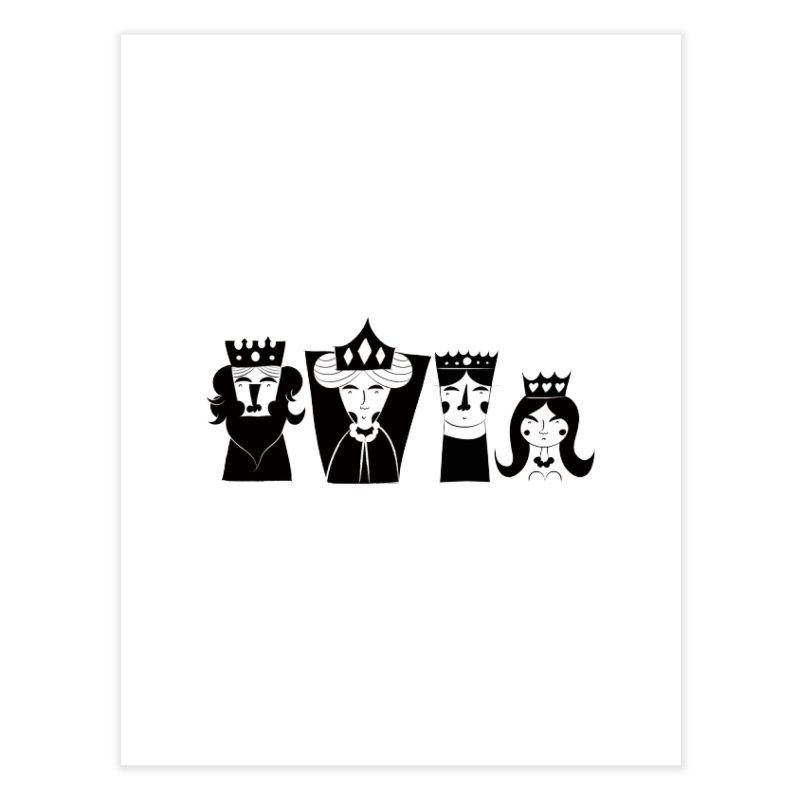 Royal Family Home Fine Art Print by meredith's Artist Shop