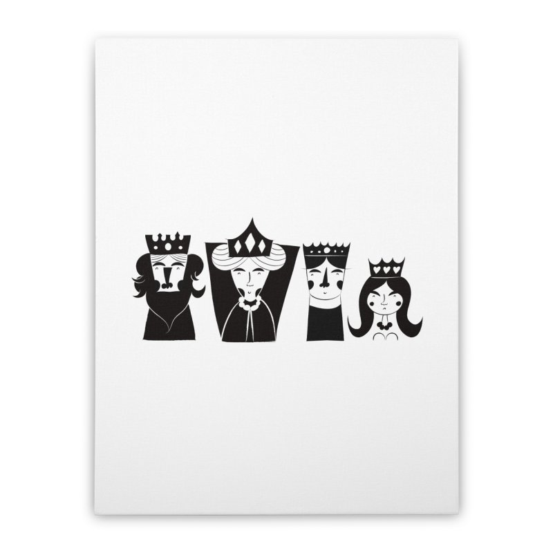 Royal Family Home Stretched Canvas by meredith's Artist Shop