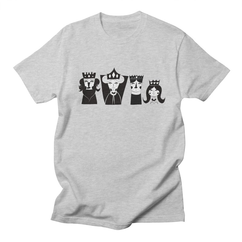 Royal Family Men's T-shirt by meredith's Artist Shop