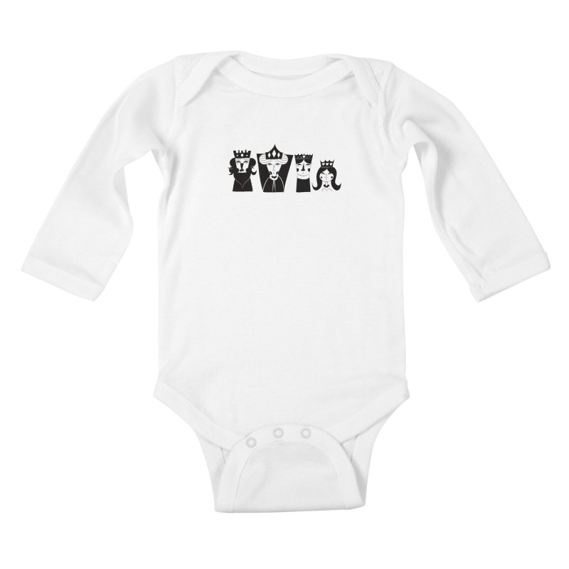 Royal Family Kids Baby Longsleeve Bodysuit by meredith's Artist Shop
