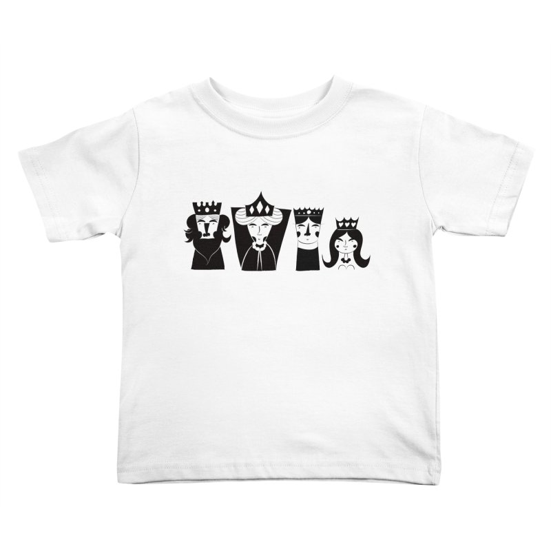 Royal Family Kids Toddler T-Shirt by meredith's Artist Shop