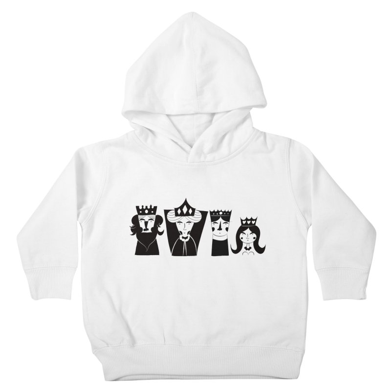 Royal Family Kids Toddler Pullover Hoody by meredith's Artist Shop