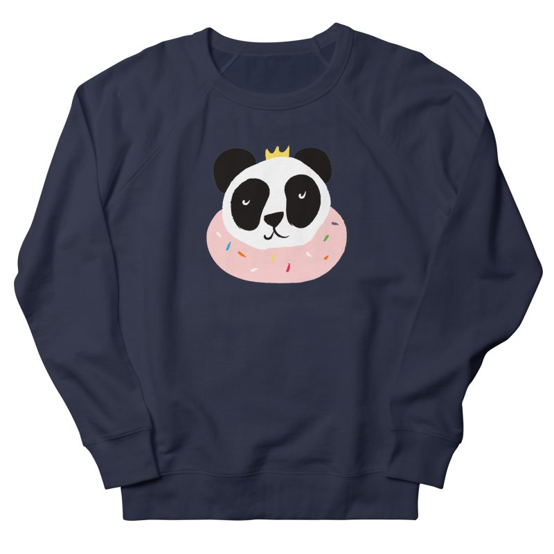 Panda Donut Women's Sweatshirt by meredith's Artist Shop