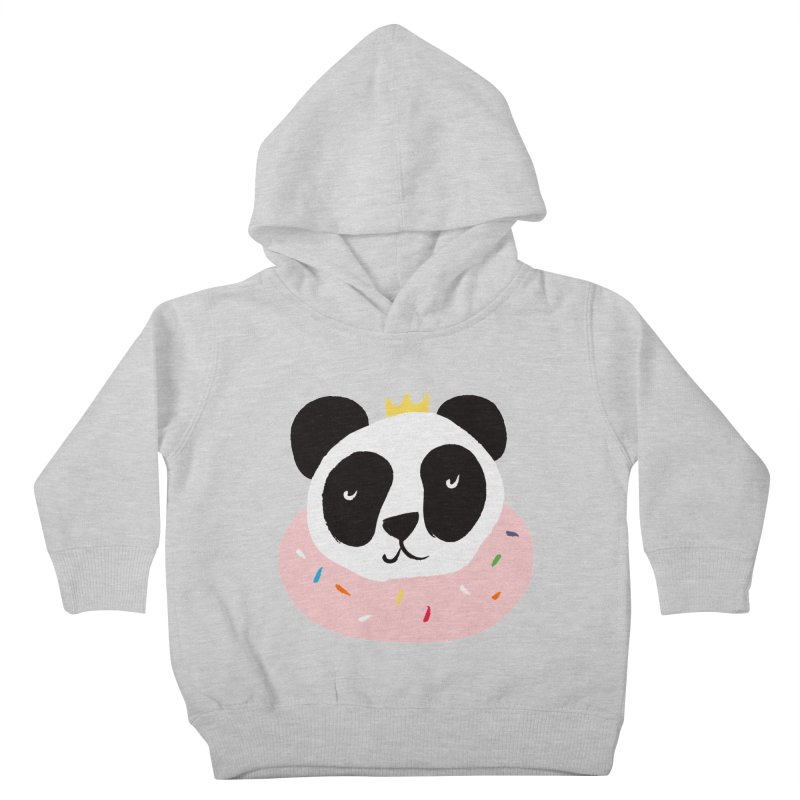Panda Donut Kids Toddler Pullover Hoody by meredith's Artist Shop