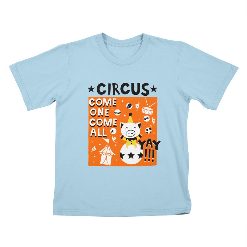 Circus Kids T-shirt by meredith's Artist Shop
