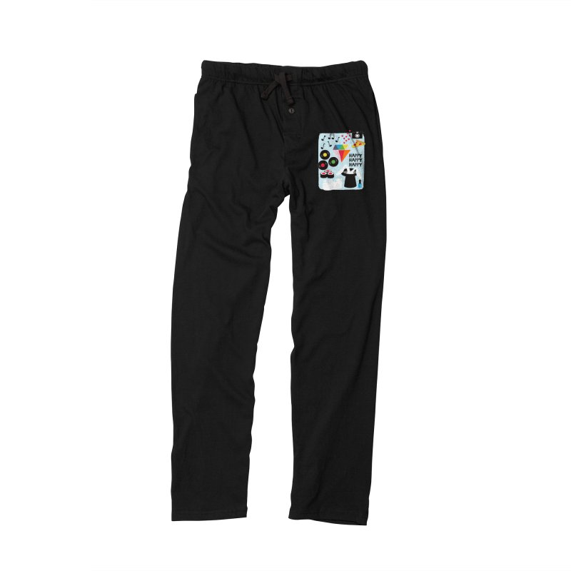 Happy Thoughts Women's Lounge Pants by meredith's Artist Shop