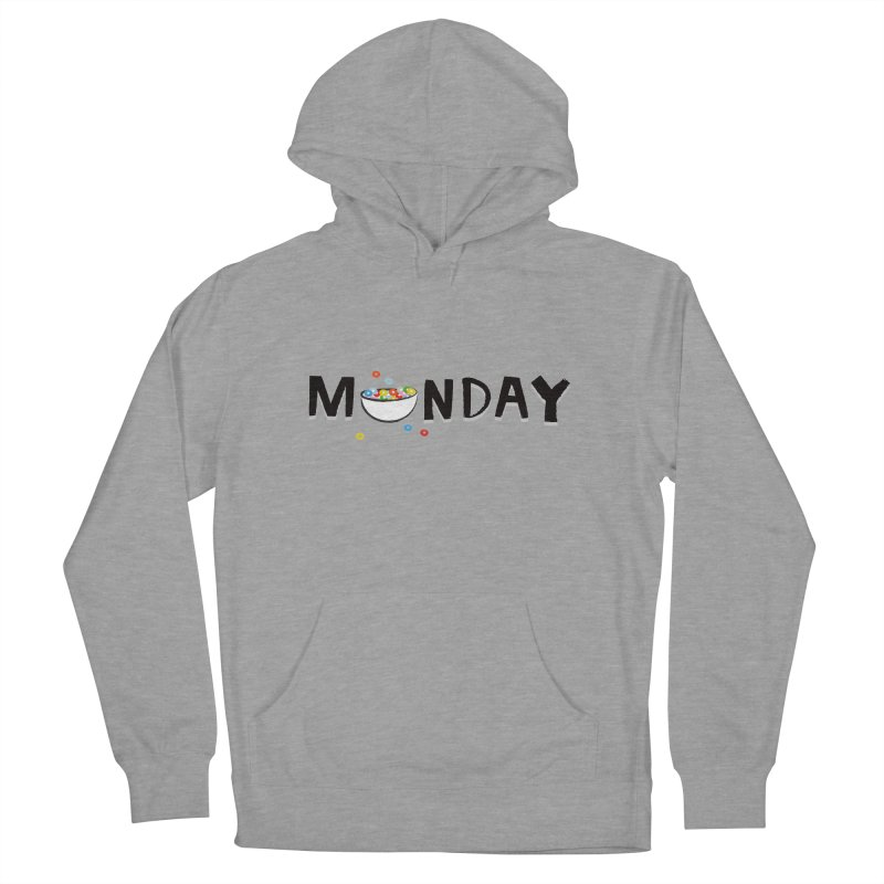Monday Men's Pullover Hoody by meredith's Artist Shop