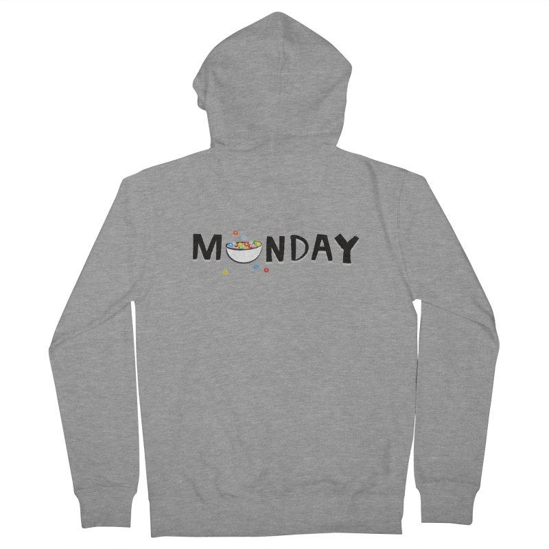 Monday Men's Zip-Up Hoody by meredith's Artist Shop