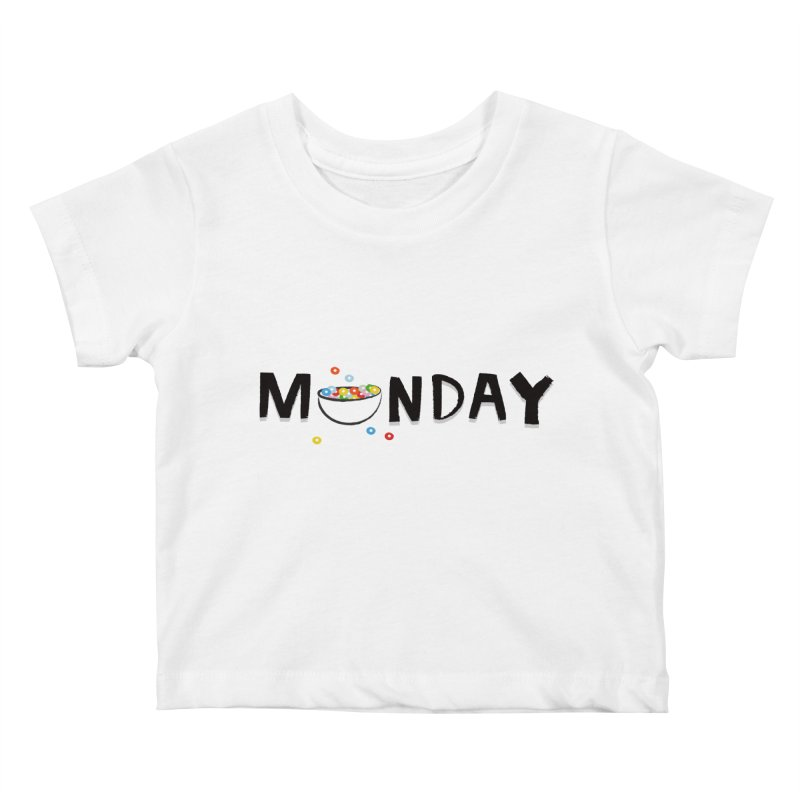 Monday Kids Baby T-Shirt by meredith's Artist Shop