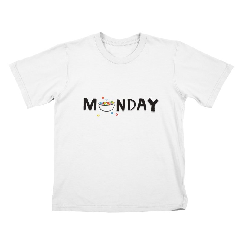 Monday Kids T-shirt by meredith's Artist Shop