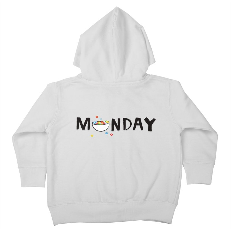 Monday Kids Toddler Zip-Up Hoody by meredith's Artist Shop