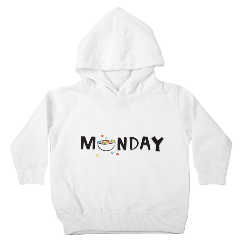 Monday Kids Toddler Pullover Hoody by meredith's Artist Shop