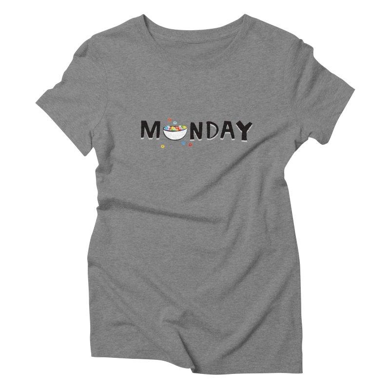 Monday Women's Triblend T-shirt by meredith's Artist Shop