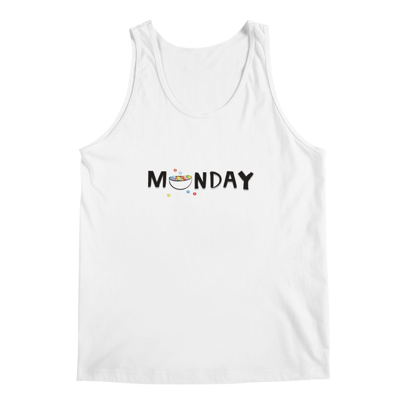 Monday Men's Tank by meredith's Artist Shop