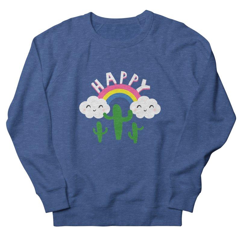 Happy Women's Sweatshirt by meredith's Artist Shop