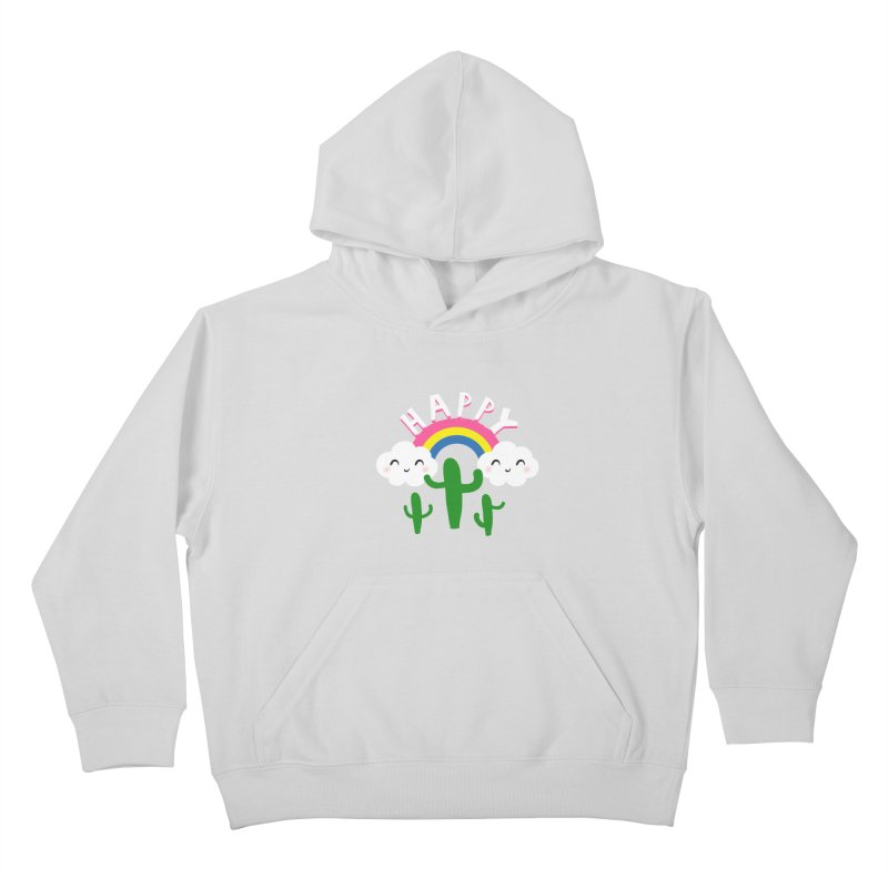 Happy Kids Pullover Hoody by meredith's Artist Shop