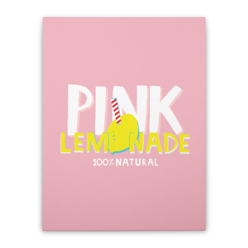 Pink Lemonade Home Stretched Canvas by meredith's Artist Shop