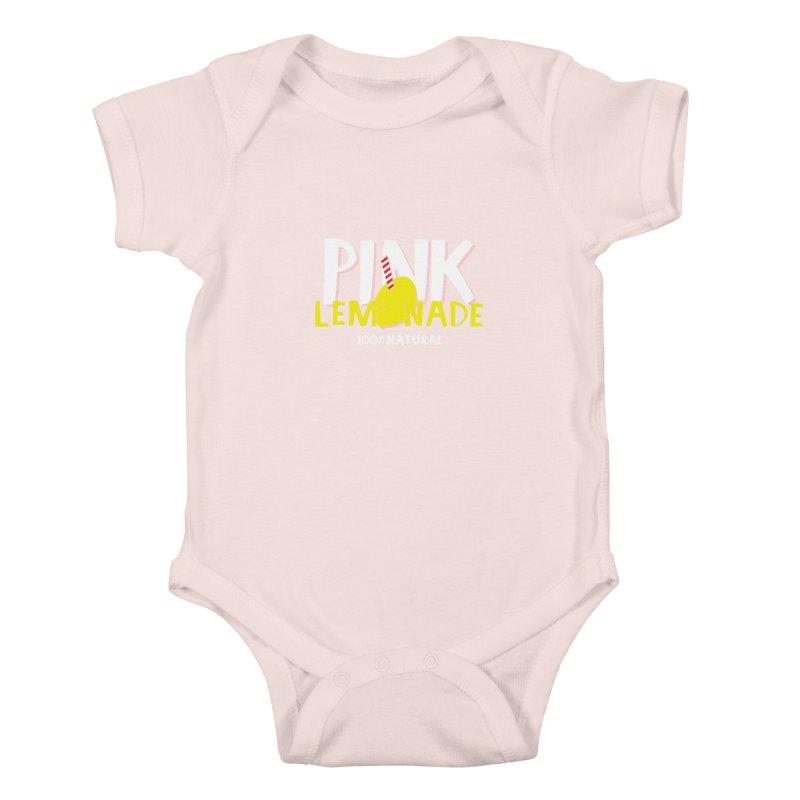 Pink Lemonade Kids Baby Bodysuit by meredith's Artist Shop