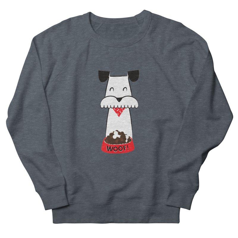 Woof Women's Sweatshirt by meredith's Artist Shop