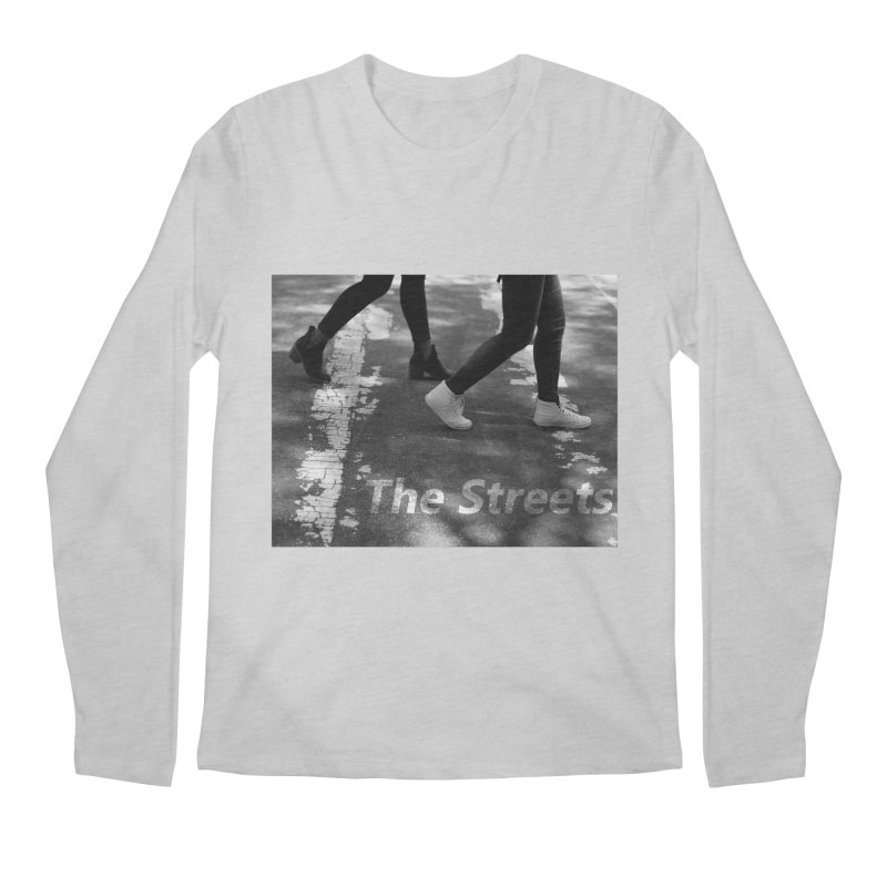 THE STREETS Men's Regular Longsleeve T-Shirt by THE STREETS