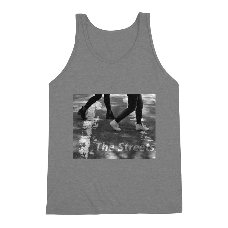 THE STREETS Men's Triblend Tank by THE STREETS