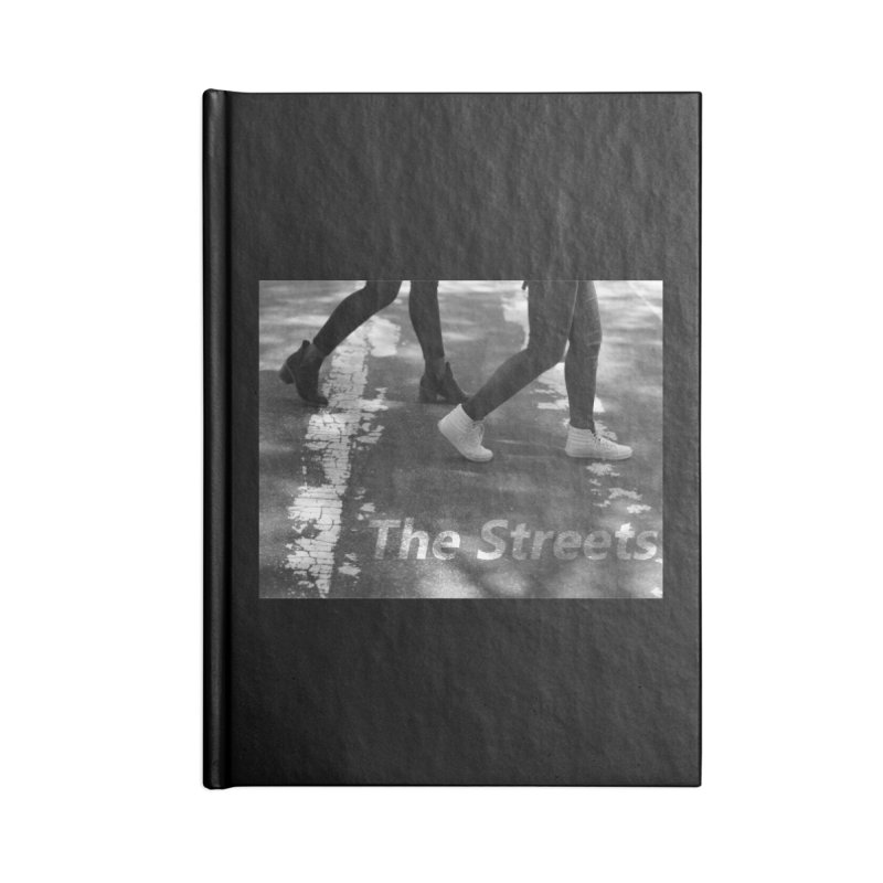 THE STREETS Accessories Lined Journal Notebook by THE STREETS
