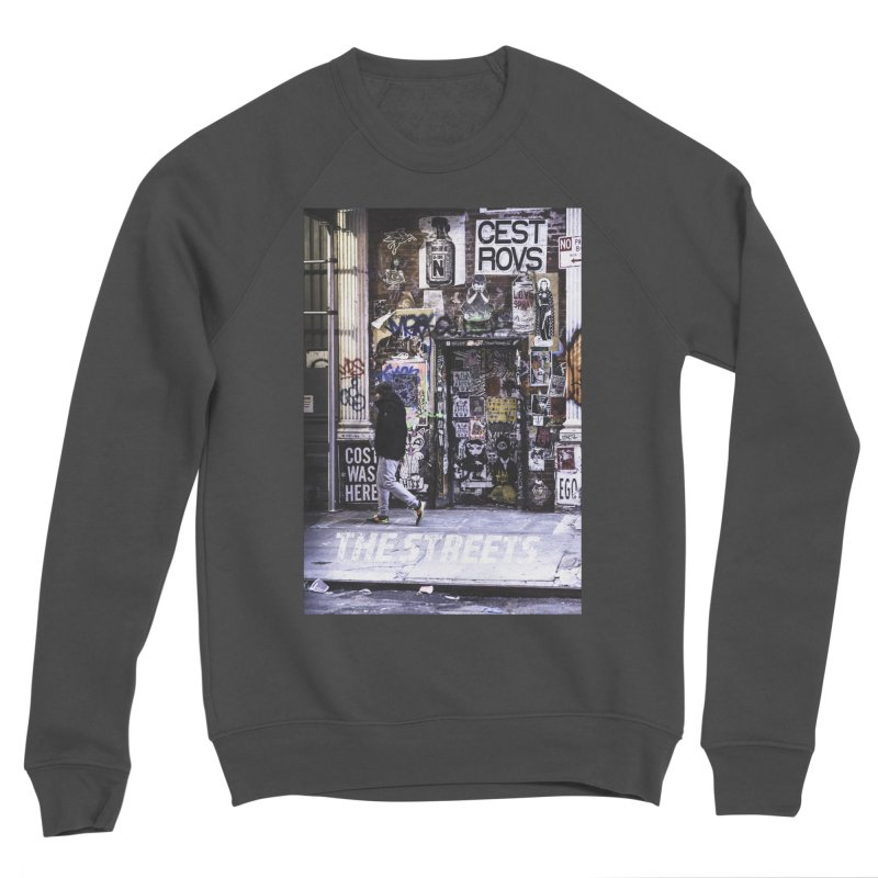 THE STREETS Pasteups Women's Sponge Fleece Sweatshirt by THE STREETS