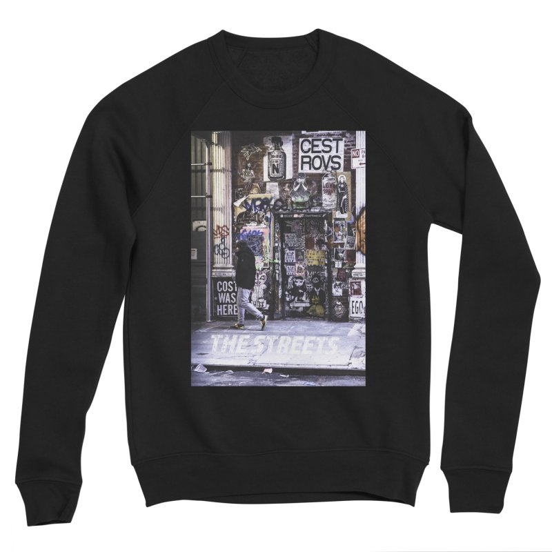 THE STREETS Pasteups Women's Sponge Fleece Sweatshirt by THE STREETS