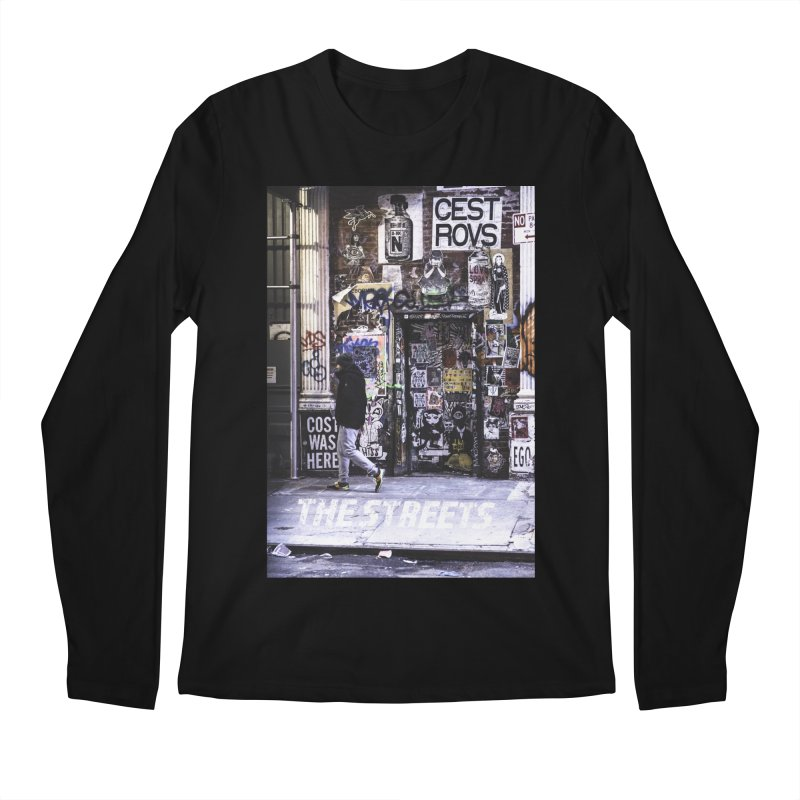 THE STREETS Pasteups Men's Regular Longsleeve T-Shirt by THE STREETS