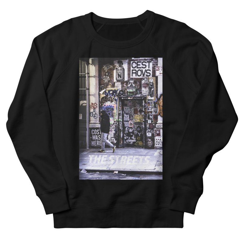 THE STREETS Pasteups Women's French Terry Sweatshirt by THE STREETS