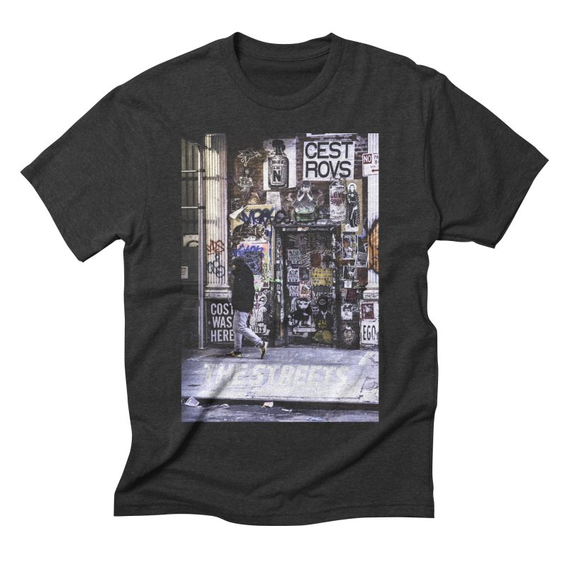 THE STREETS Pasteups Men's Triblend T-Shirt by THE STREETS
