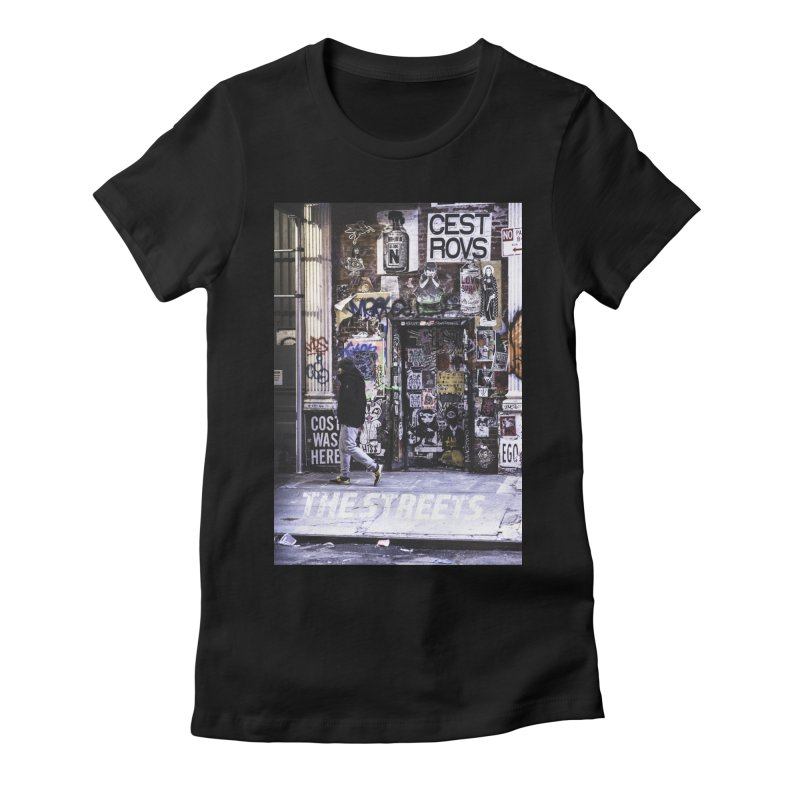 THE STREETS Pasteups Women's T-Shirt by THE STREETS