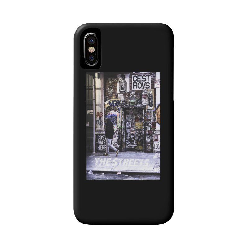 THE STREETS Pasteups Accessories Phone Case by THE STREETS