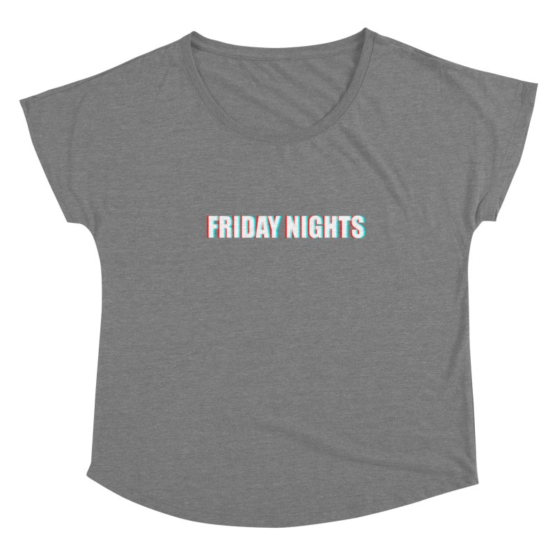 FRIDAY NIGHTS Women's Scoop Neck by THE STREETS