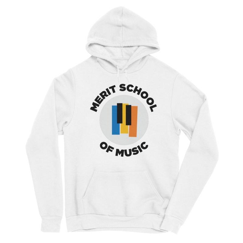 Merit Logo Print Women's Pullover Hoody by Merit School of Music