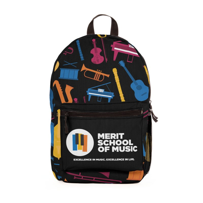 Symphony Print Accessories Bag by Merit School of Music