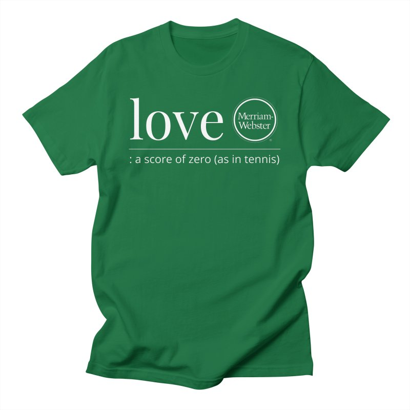 Love Men's T-Shirt by Merriam-Webster Dictionary