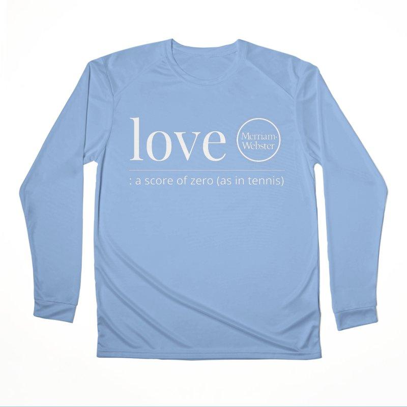 Love Women's Longsleeve T-Shirt by Merriam-Webster Dictionary