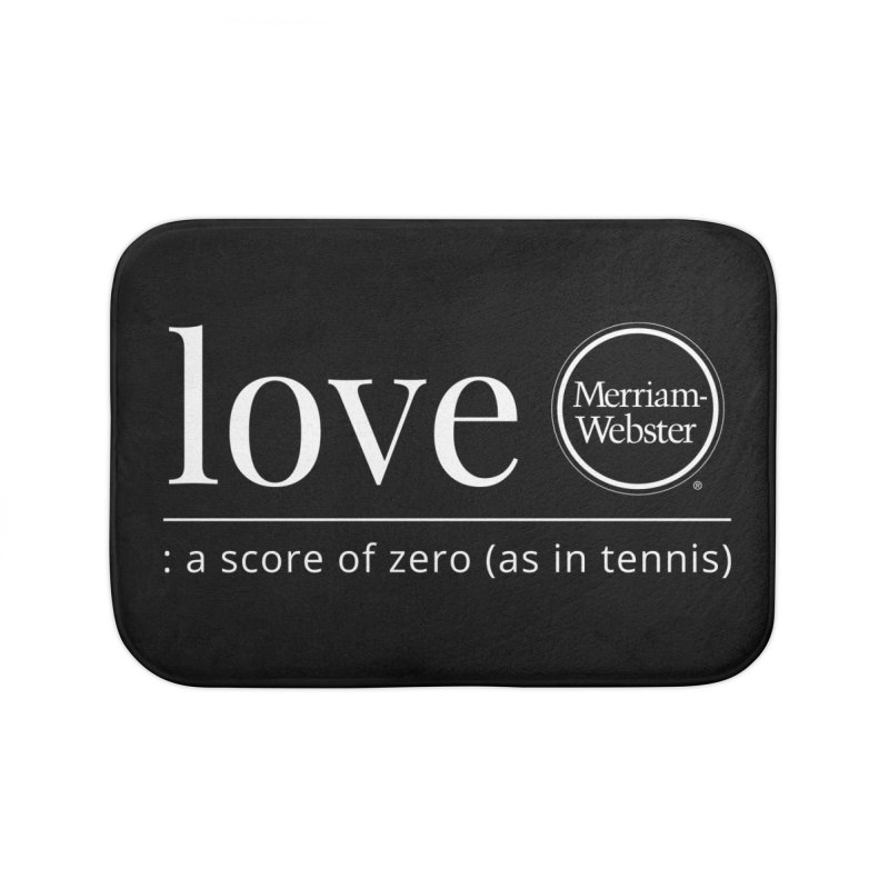 Love Home Bath Mat by Merriam-Webster Dictionary