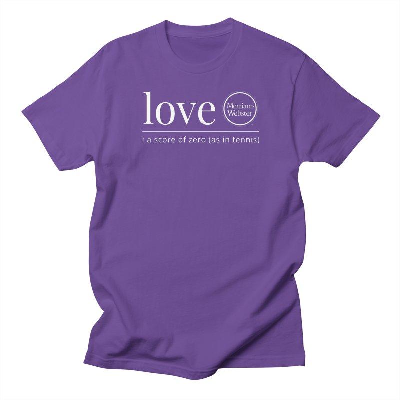 Love Women's Regular Unisex T-Shirt by Merriam-Webster Dictionary