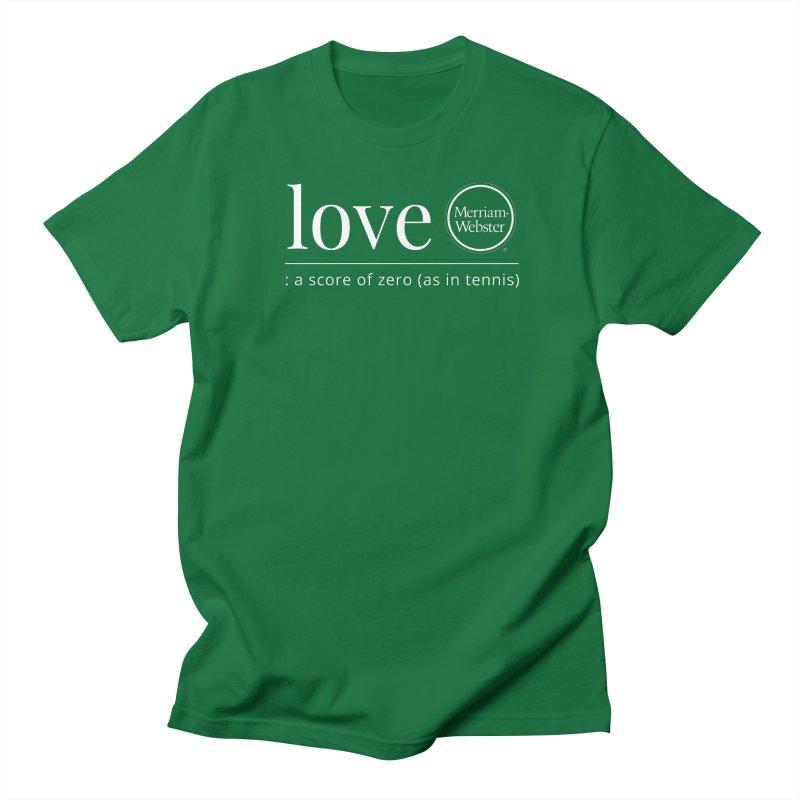 Love Men's Regular T-Shirt by Merriam-Webster Dictionary