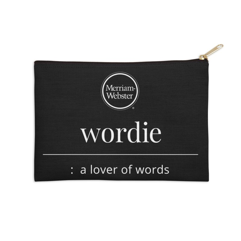 Wordie Accessories Zip Pouch by Merriam-Webster Dictionary