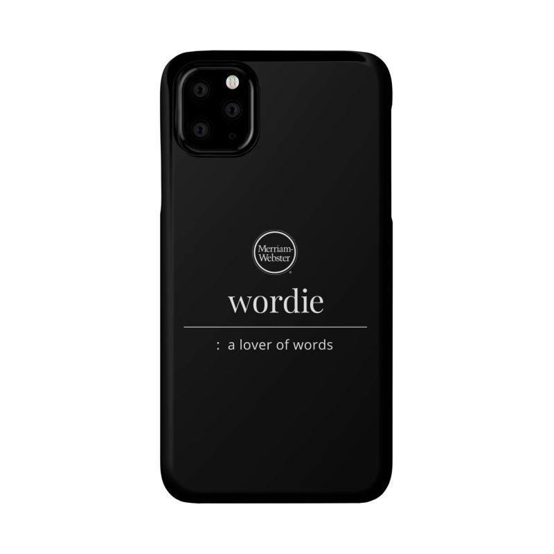 Wordie Accessories Phone Case by Merriam-Webster Dictionary