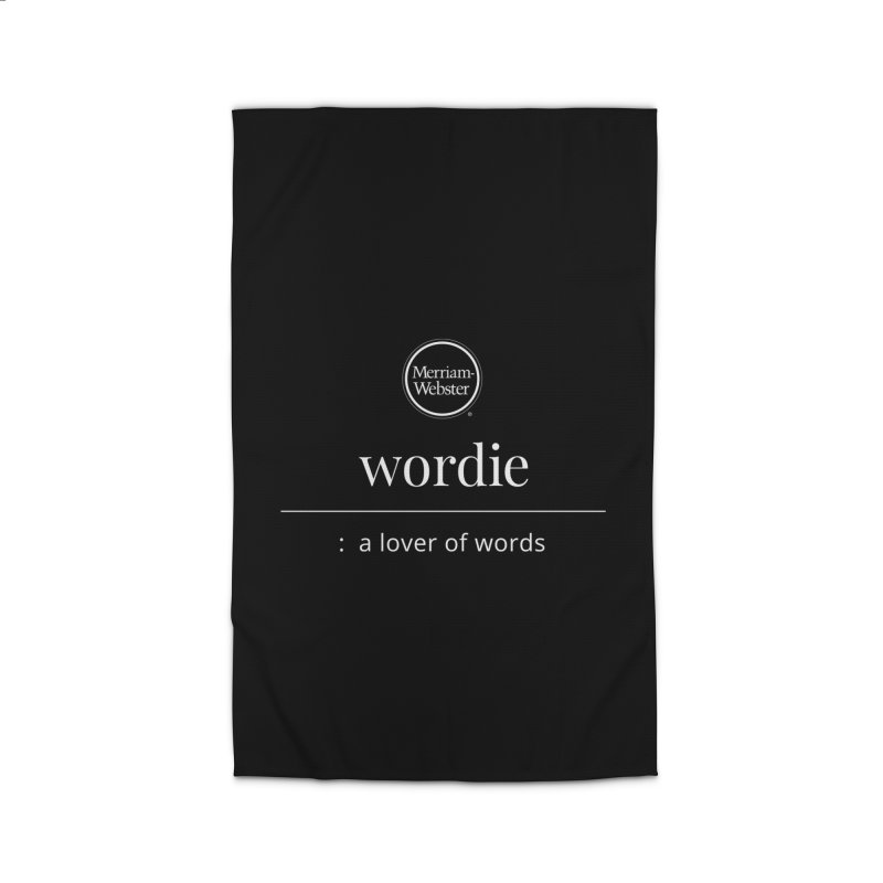 Wordie Home Rug by Merriam-Webster Dictionary